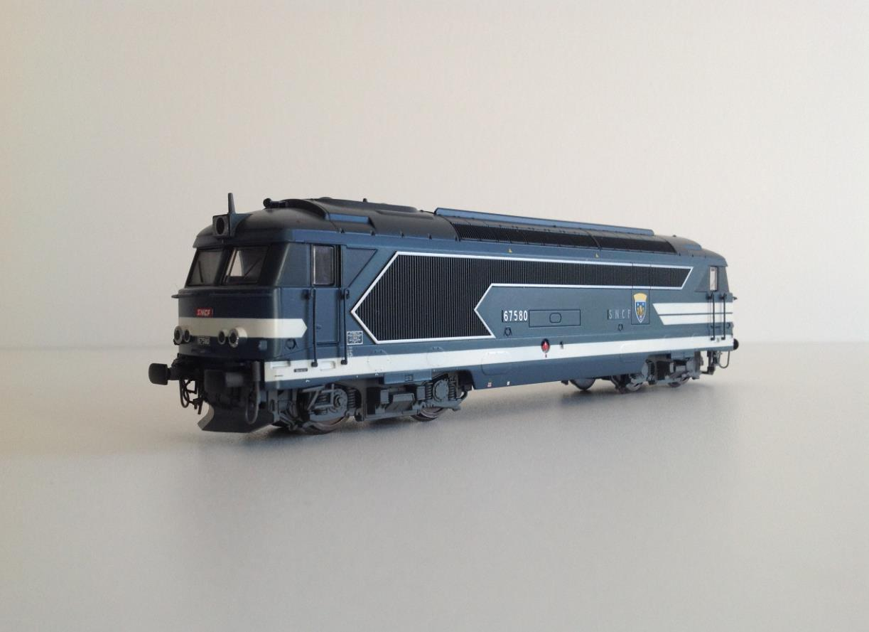 JOUEF HORNBY 2062 BB 67580 SNCF